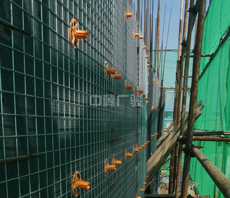 LK点连式限位钢丝网片内置保温板产品